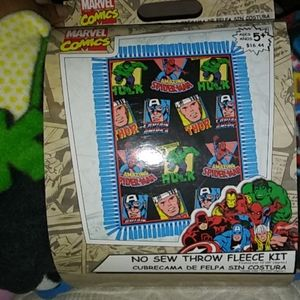 Marvel Fleece Throw